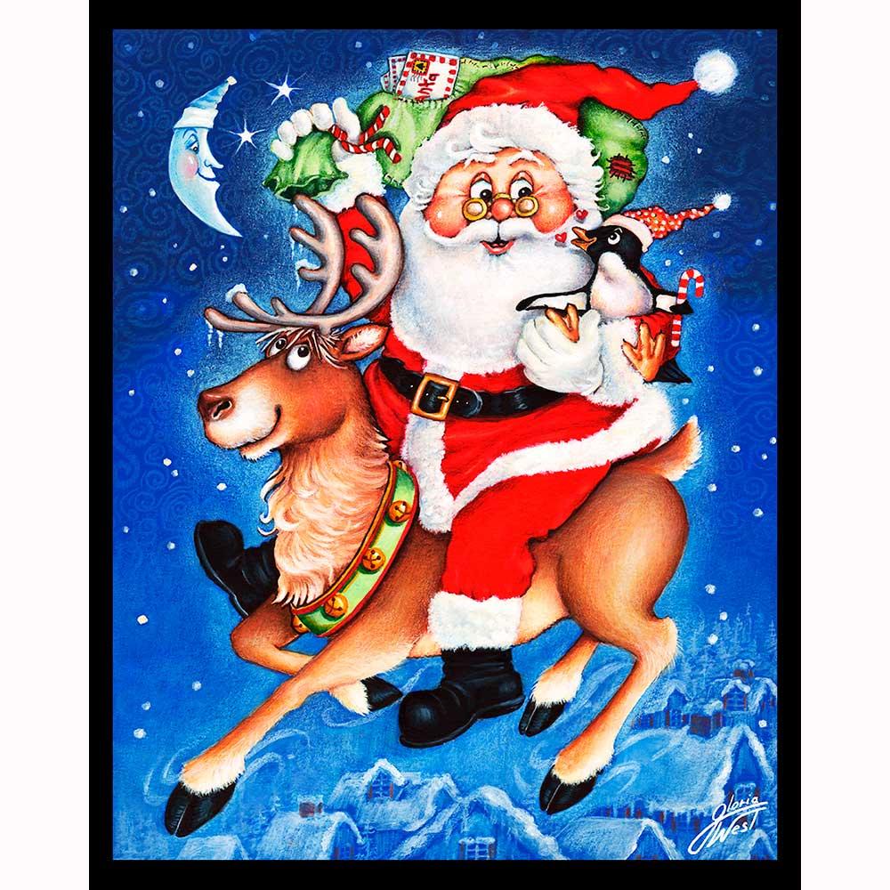 Does Mail Run On Christmas Eve.Santa S Mail Run